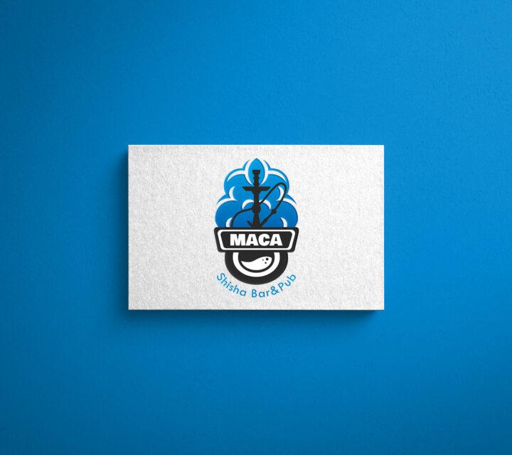 projekt graficzny logo logotyp SHISHA BAR&PUB asunique agencja kreatywna