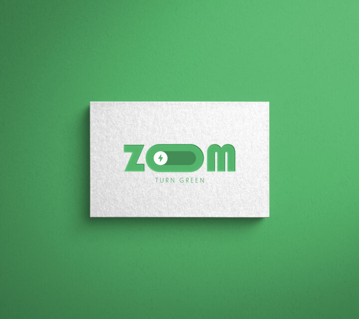 LOGO, ZOOM TURN GREEN